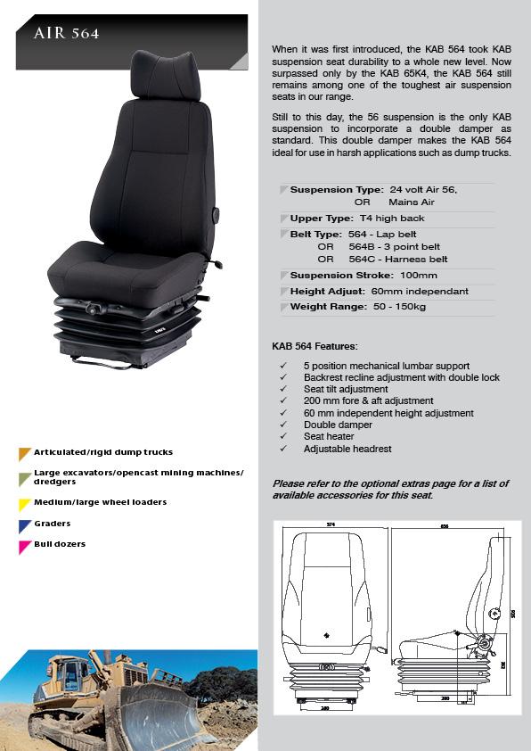 My Ford Benefits >> KAB 564 - KAB Seating Pty Ltd