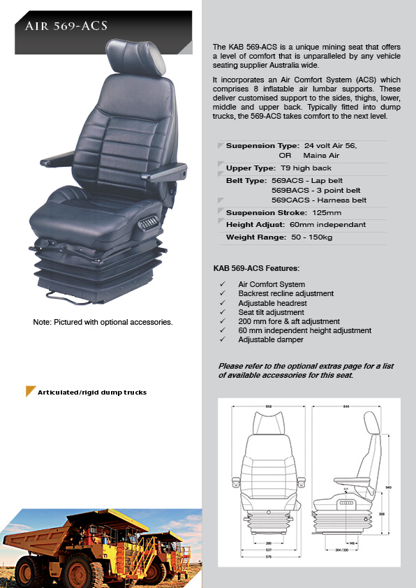 Kab 569acs Kab Seating Pty Ltd