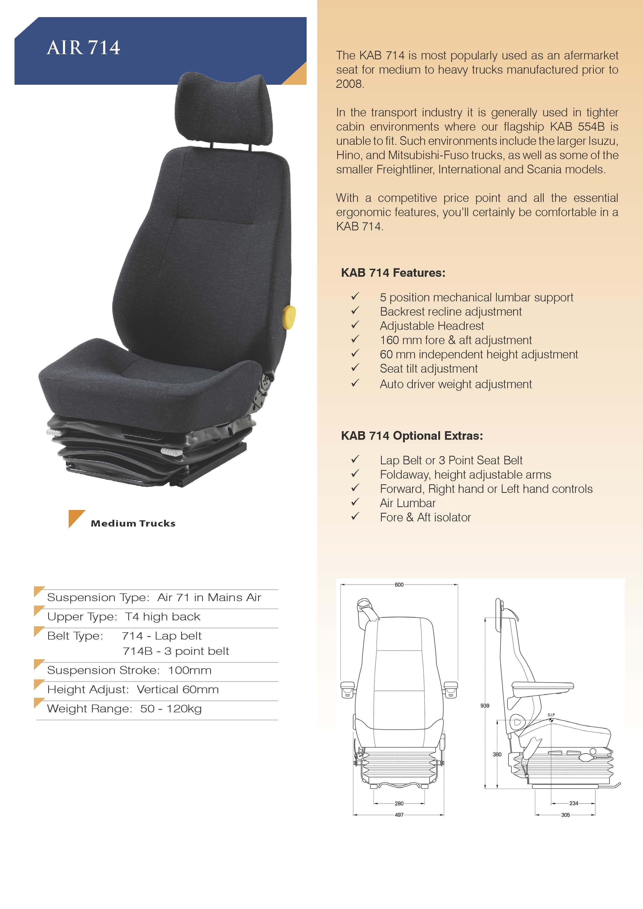 Kab 714 Kab Seating Pty Ltd
