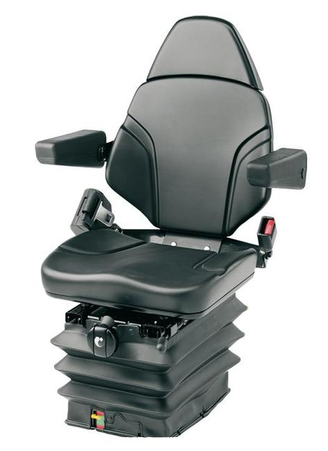 KAB 11-P6 mechanical suspension seat for medium sized tractors and telehandlers.