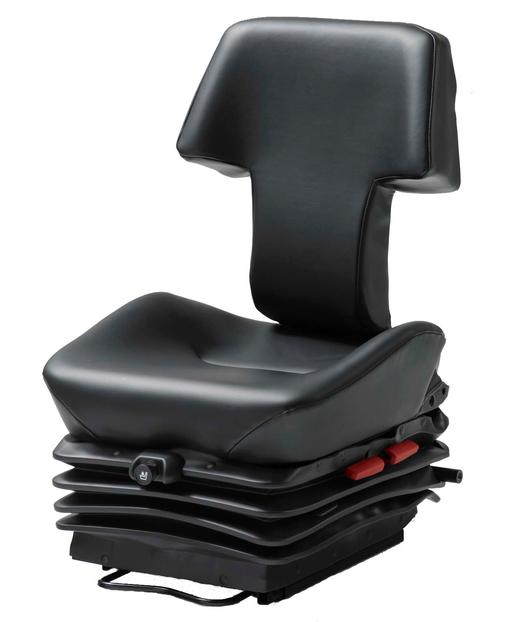 KAB 565-M24 air suspension seat is the top of the range KAB underground mining seat.