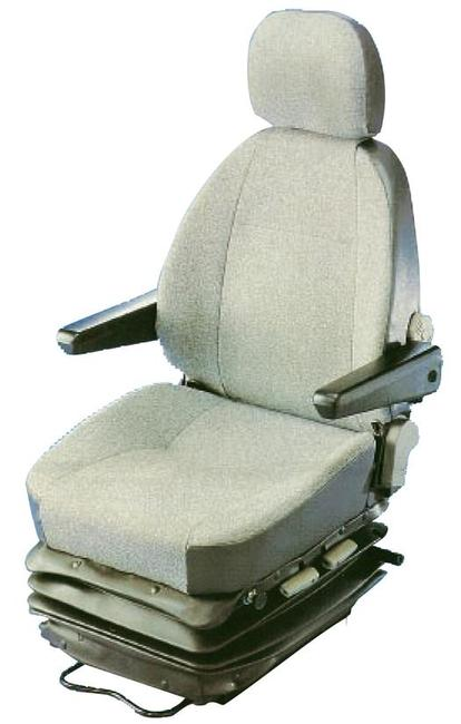 The KAB 565 is a mid-back air suspension seat specifically designed for use in medium backhoes, graders, loaders, dozers, and compactors. Because of it's mid-back it is especially popular in applications where there is a requirement to look rearward.