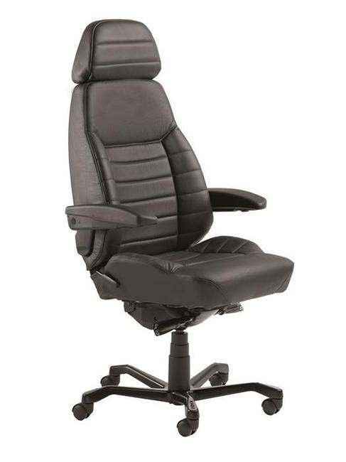 The KAB Executive is an ergonomic 24/7 chairrecommended for people of larger stature. Its primary point of difference from the other KAB office chairs is that it features wider body contoured cushions which offergreater side cushion support.