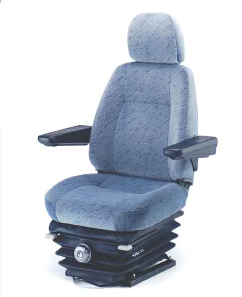 The KAB 414 is a mechanical suspension seat that has been specifically designed for use in medium trucks.It includes all the essential ergonomic features required by Australian truck drivers as well as manual driver weight adjustment from 50kg to 120kg.