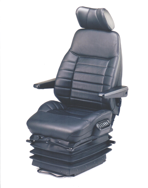 KAB 569ACS Suspension Seat incorporating 8 air lumbar adjustments.
