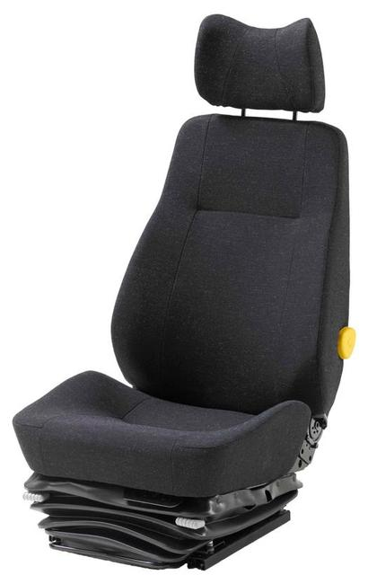 KAB 714 air suspension seat for use in Freighliner, Scania, and some Hino, Isuzu and Mitsubishi-Fuso trucks.