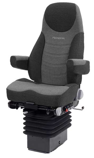 The National Premium Seat is an air suspension seat for Freightliner, Sterling and Western Star Trucks. It offers maximum comfort and ergonomic support during those long journeys on Australian roads.